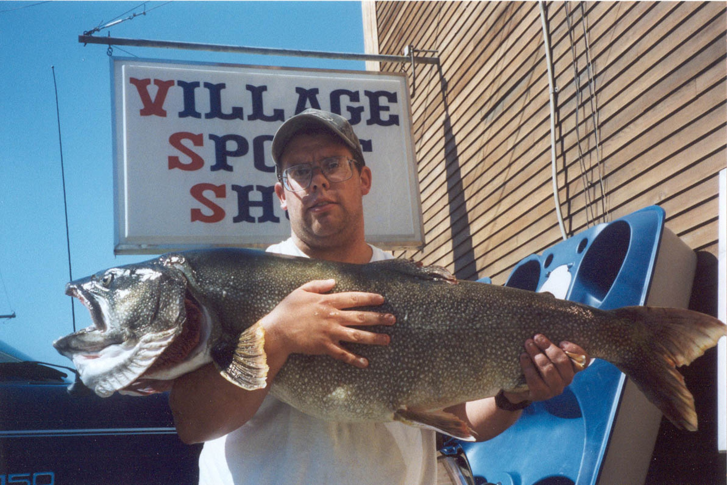 Vermont fish records for Vermont trout fishing